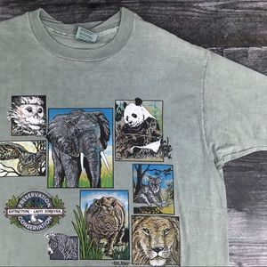 1991 Extinction Lasts Forever Animal Tee